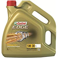 Castrol 15668E EDGE 5W-30 LL Engine Oil, 4L - Gold
