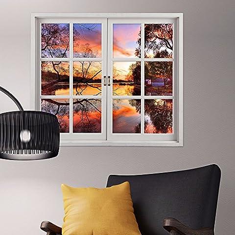 3D stereo parete finestra windows guards pubblicato nella finestra di emulazione soggiorno ,1 camere da letto studio dipinti decorano