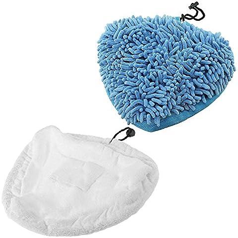 SPARES2GO Corallo + Panno in microfibra Pad Cover per Aldi