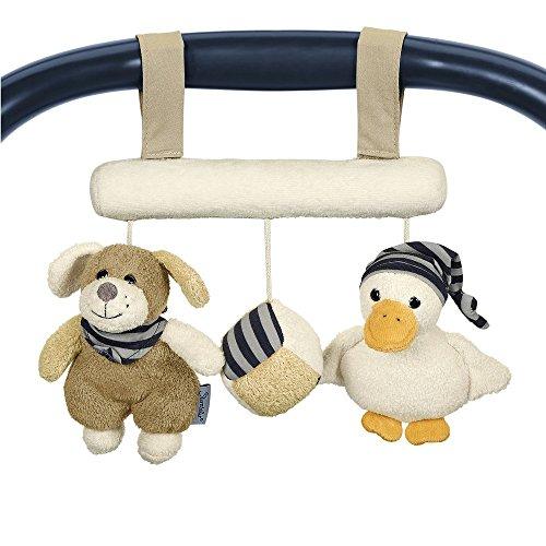 Sterntaler 6601619 - Spielzeug zum Aufhängen Hanno, braun/ecru/gelb