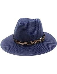 2072f65991827 GBY Sombreros de Sol para Mujer Moda para Hombre Protector Solar  Transpirable Paja con Estampado de