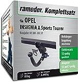 Rameder Komplettsatz, Anhängerkupplung Abnehmbar + 13pol Elektrik für Opel Insignia A Sports Tourer (146783-07861-1)