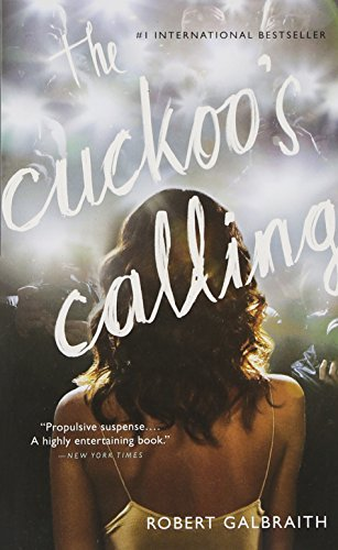 Book cover for The Cuckoo's Calling