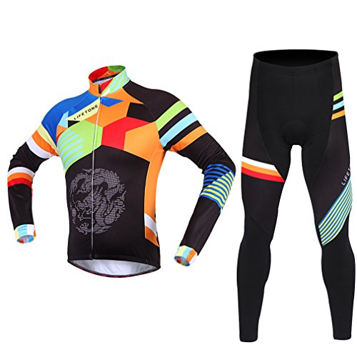cycling-jerseys-adiprod-mens-long-sleeve-cycling-polyester-coolmax-jersey-and-pant-set-wear-clothing