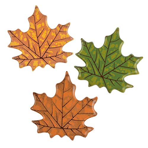 72 Herbstblätter aus dunkler Schokolade, sortiert