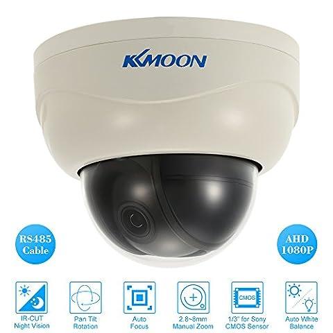 KKmoon PTZ Outdoor Camera 3'' AHD 1080P Dome PTZ CCTV