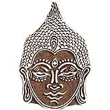 Bhudha Head Wooden Printing Block Textile Printing Block Henna And Tattoo Block Scrapbook Home Decoration Wooden Block By Fancy Handicraft
