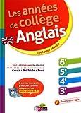 Les Années de collège - Anglais