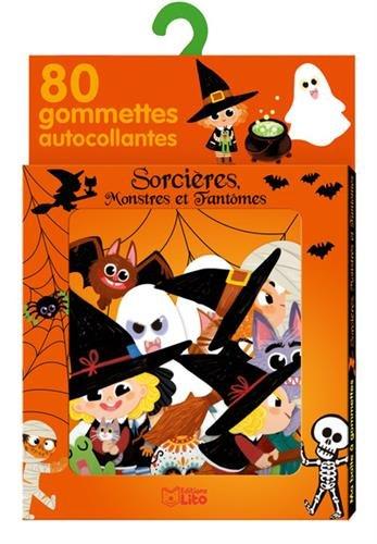 Ma boîte à gommettes: Sorcières, monstres et fantômes - De 3 à 5 ans