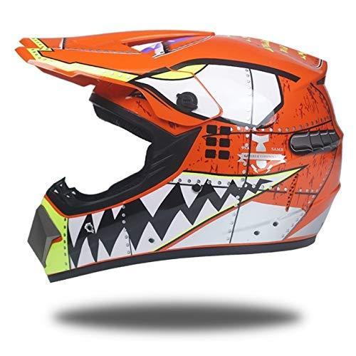 Motocross Mountain Integralhelm Classic Fahrrad Mountainbike Rennradhelm Motocross Fahrradhelm 34 XL