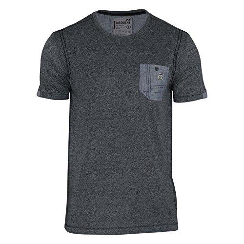 Dissident Herren T-Shirt Dunkelgrau