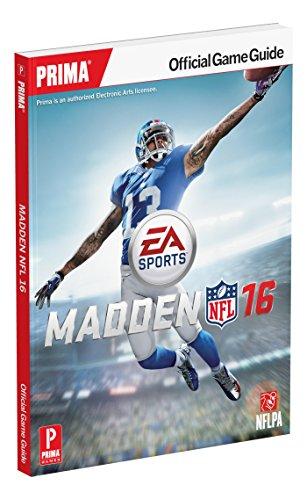 Madden NFL 16 Official Strategy Guide (Prima Official Game Guide) por Zach Farley