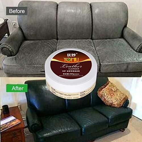 Möbel Büromöbel Express (260g Lederreiniger Dasongff Performance Leder-Pflege Lederseife Reinigungsschwamm für Glattleder, Auto, Schuhe, Couch, Taschen und Möbel)