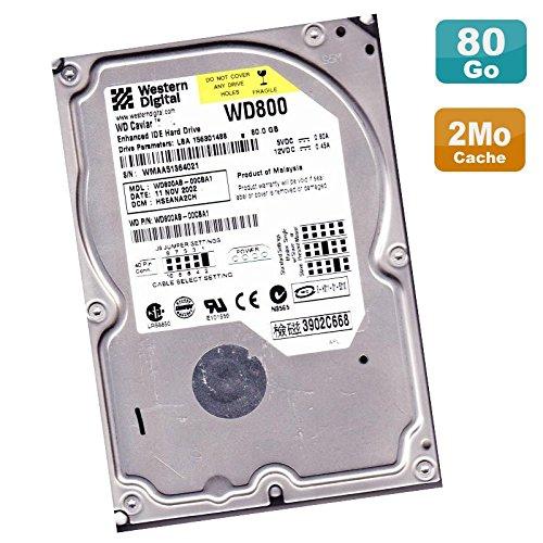 80gb 5400rpm Ide-festplatte (Festplatte 80 GB IDE ATA 3.5