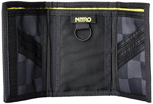 Nitro Snowboards Unisex Wallet Geldbeutel Checker