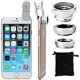 Lente Ojo de Pez 180 º + Macro Amplio para Teléfono Movil iPhone 4G 4S 5G Samsung DC264S