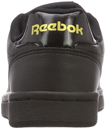Reebok Damen Royal Complete Cln Gymnastikschuhe Schwarz (Black Gold Met Black Gold Met)