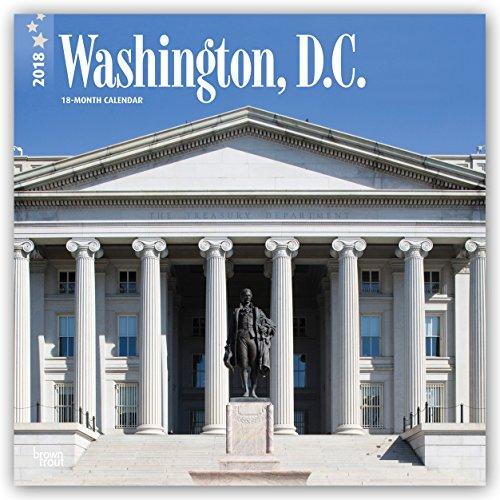 Descargar Libro Washington, D. C. 2018 - 18-Monatskalender mit freier TravelDays-App: Original BrownTrout-Kalender de Browntrout Publishers