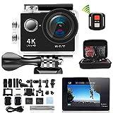 VPRO 4K Sport-Kamera Ultra HD, 170-Grad-Ultra-Weitwinkel-Objektiv, 12Mega Pixel, 5 cm (2 Zoll)...