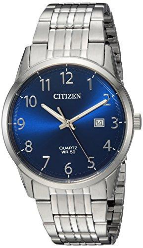Citizen orologio al quarzo acciaio INOX casual, colore: tonalità argentata (Model: BI5000–52L)
