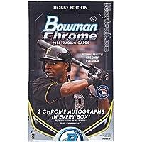 2014 Bowman Chrome Baseball Hobby Box MLB