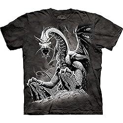 The Mountain Camesita Black Dragon Dragons Adulto Unisexo