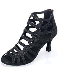 JSHOE Zapatos De Baile A Cielo Abierto De Las Mujeres Salsa / Tango / Té / Samba / Moderno / Jazz Zapatos Sandalias...