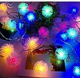 Solar capelli badminton creativo LED stringa USB torcia elettrica luci della stringa decorazione della stanza esterna lampada 6m B