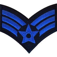 Hierro bordado/coser en militar ejército parche insignia galones sargento de estrellas del Pop