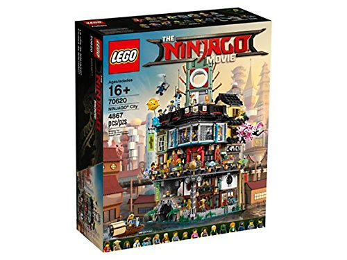Lego Ninjago City 70620 - The Ninjago Movie 4867 Piezas -Edición Limitada