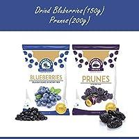 Wonderland Dried Blueberry 150g & Prunes 200g Combo Pack