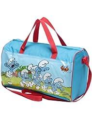 Die Schlümpfe Tasche Schlumpfis Running Kinder Sporttasche Reisetasche Umhängetasche