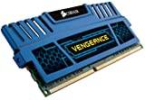 Corsair CMZ4GX3M2A1600C9B Vengeance 4 GB (2 x 2 GB) DDR3 1600 Mhz C9 XMP Performance Memory Kit - Blue