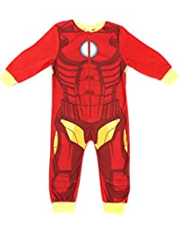 Boys Marvel Ironman Sleepsuit