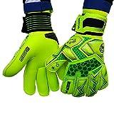Walter - Sweet - Paire de gants professionnels pour gardien de but de football, Giallo-Verde, 8
