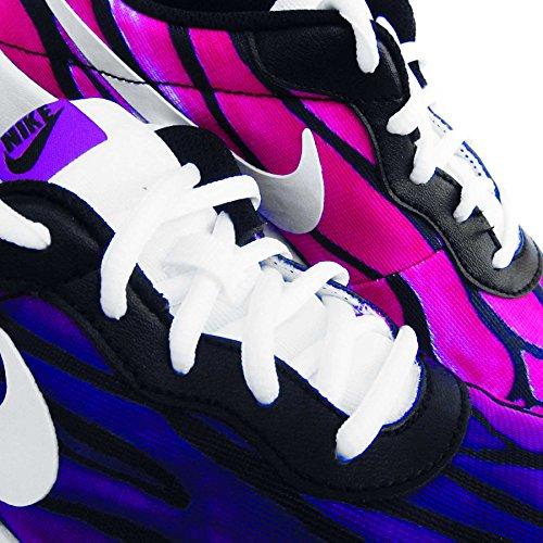 Nike - Tanjun Print (Gs), Scarpe sportive Bambina Nero (Negro (Negro (Black / White-Crt Prpl-Hypr Vlt)))