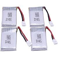 YUNIQUE DEUTSCHLAND ® 3.7V 720mAh Batterien (4PCS) für Syma X5 X5C X5A X5C-1 X5SW X5SC RC Quadcopter