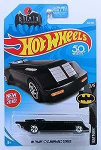 Mattel Hot Wheels 2018 Basic Mainline Batman: The Animated Series Batmobile (Black)