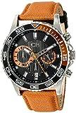 Carlo Monti Armbanduhr für Herren mit Analog-Anzeige, Chronograph mit Nylonarmband - Wasserdichte Herrenarmbanduhr mit zeitlosem, schickem Design - klassische Uhr für Männer - CM509-124A Avellino