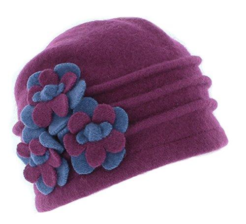 whiteley-fischer-ladies-ribbed-wool-cloche-hat-bh4118-pink
