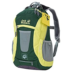 Jack Wolfskin Unisex - Kinder Rucksack Moab Jam, beech green, 40 x 28 x 7cm, 10 liter, 2000851-4063