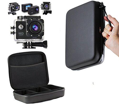Preisvergleich Produktbild Navitech Schwarzes Schock Sicheres harten Fall / Abdeckung / Gehäuse für das Kitvision Splash Action Kamera