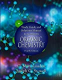 [Study Guide and Solutions Manual to Accompany Organic Chemistry] (By: G.Marc Loudon) [published: October, 2002]