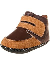 Little Blue Lamb–Zapatos para bebé unidad lernschuhe Booties Botas 3819marrón