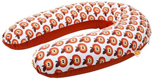 Millemarille Coussin d'allaitement indéchirable Motif Funky Apples 175 cm
