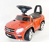 Rutschauto lizenzierte Mercedes GL63 AMG Rutschfahrzeug mit Ledersitz und Licht Kinderauto Rutscher Lauflernhilfe