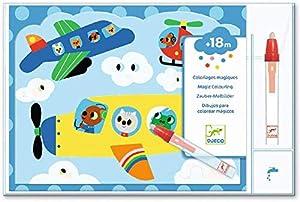Djeco Colorea mágico Escondido en el Cielo (39061), Multicolor (1)