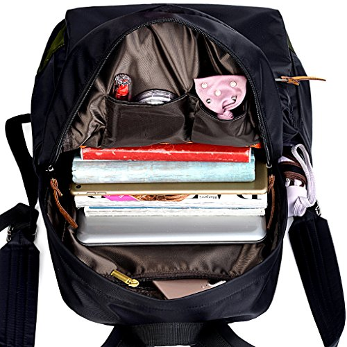 Imagen de uto camo  oxford impermeable tela nylon unisex portátil  escuela colegio bookbag bolsa de viaje bolsa de hombro alternativa