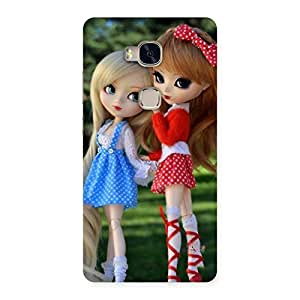 NEO WORLD Premium Twin Sister Doll Back Case Cover for Huawei Honor 5X
