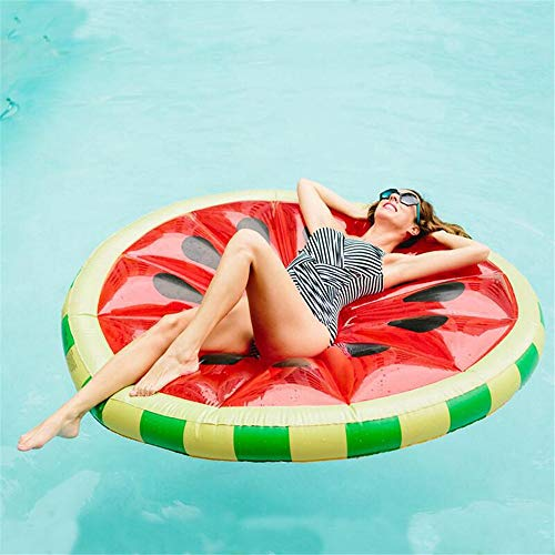 TechCode Adult Pool Lounge Chair, Floating Bed Multi-Function Inflatable, Swimming Pool Floating Lounge Chair, Floating Blanket, Drifting Portable Pool Toy Diameter 59